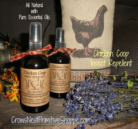 Chicken Coop Insect Repellent