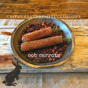 Cob Carrots- Set of 2