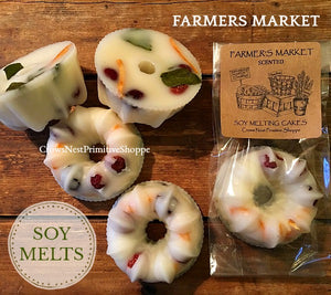 Scented Soy Bundt Shaped Melting Tart-Farmers Market