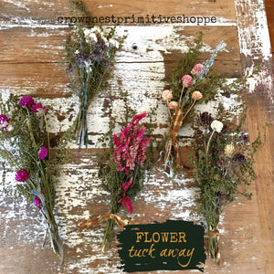 Flower and Herb Tuck Away Bouquet