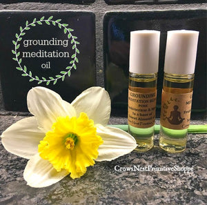 Grounding Meditation Roll-On Oil