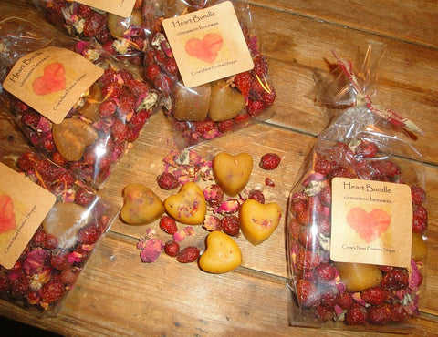 Scented Beeswax Heart Bundle