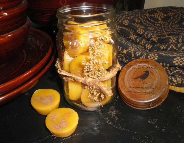 Jar of Beeswax Melting Tarts