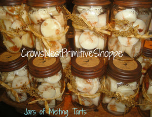 Jar of Soy Melting Tarts