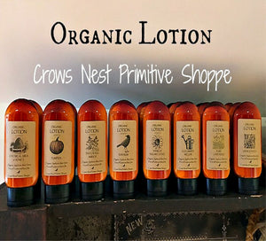 Organic Lotion- 4 ounce