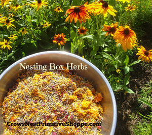 Chicken Nesting Box Herbs