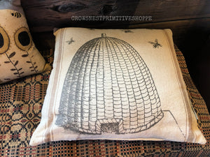 Pillow- Bee Skep