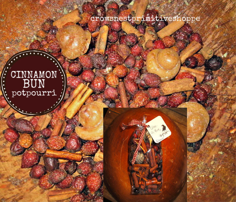 Potpourri- Cinnamon Bun Packaged
