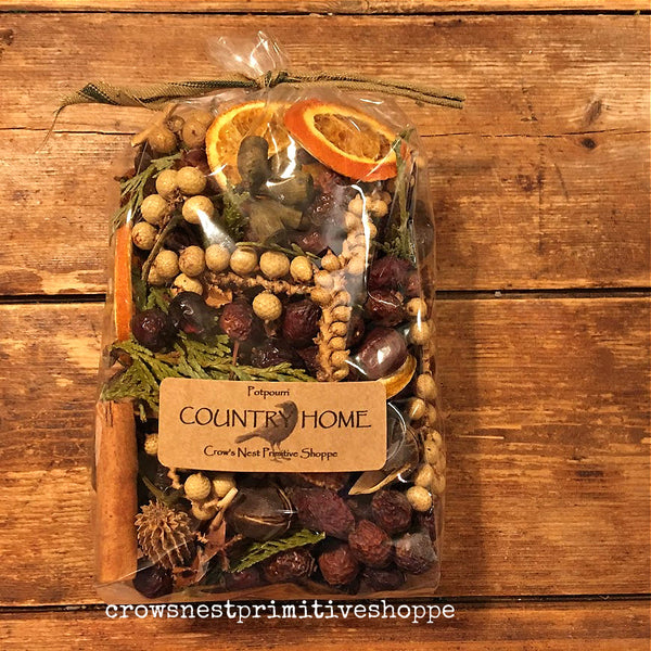 Country Home Potpourri Packaged