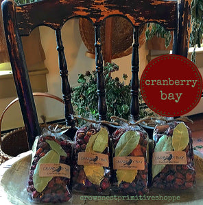 Cranberry Bay Potpourri Packaged