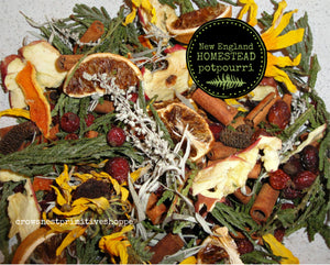 Potpourri- New England Homestead
