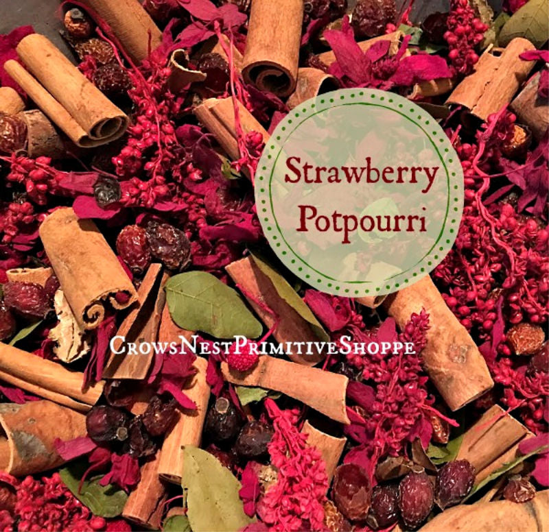 Potpourri-Strawberry