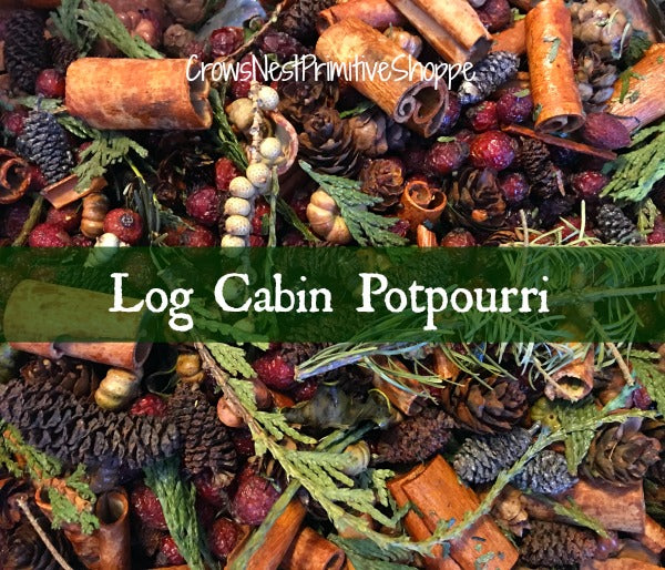 Potpourri-Log Cabin