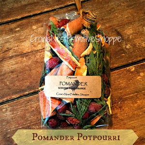 Orange Pomander Potpourri