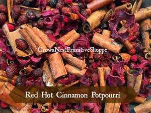 Potpourri-Red Hot Cinnamon