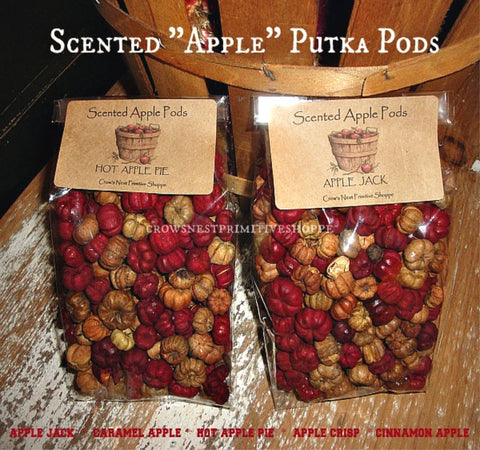 Wholesale Scented Putka Pods-Apple Label
