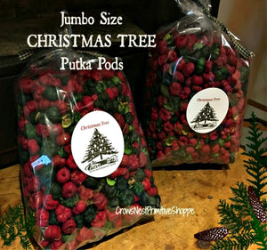 Scented Putka Pods-Christmas Tree