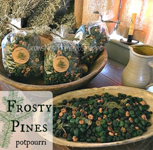 Scented Putka Pods-Frosty Pines