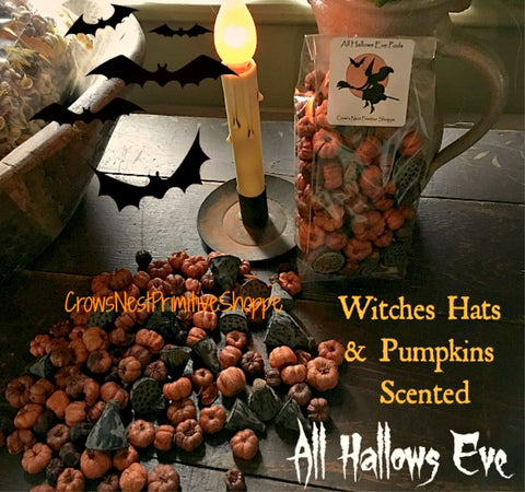Scented Putka Pods-Witches Hats & Pumpkins