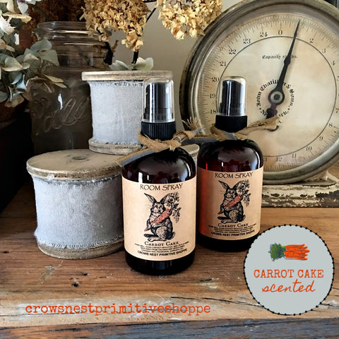 Scented Room Sprays- Carrot Cake