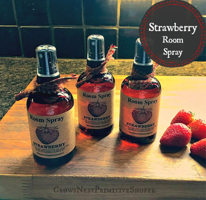 Scented Room Sprays- Strawberry