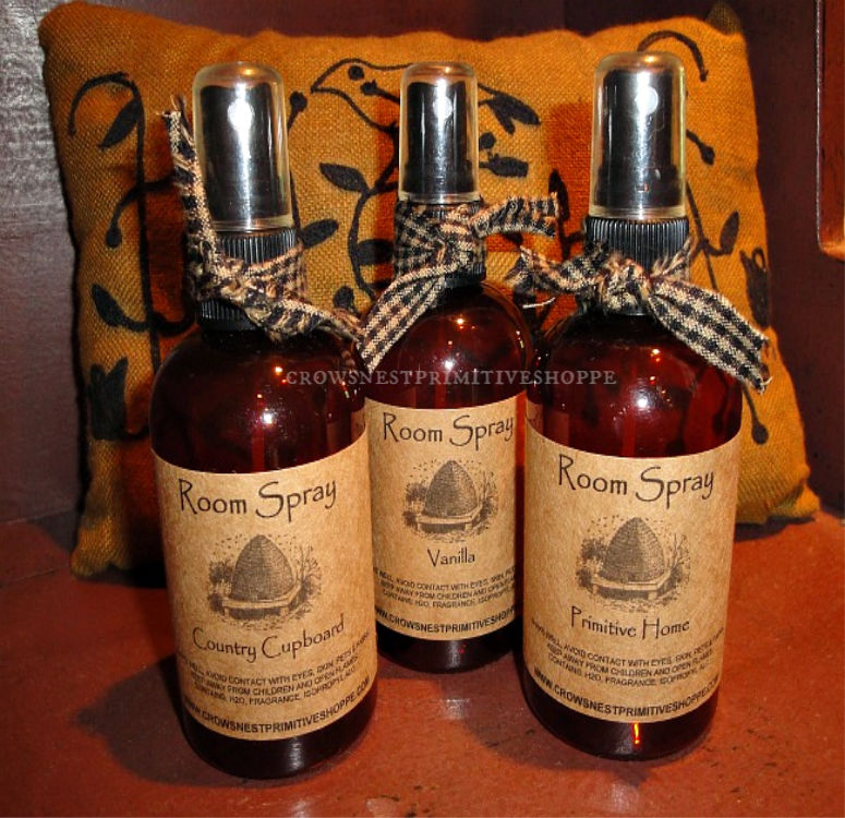 Scented Room Sprays- 4 ounce