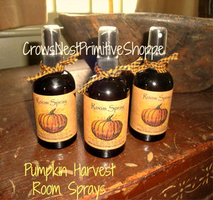 Scented Room Sprays- Pumpkin Harvest