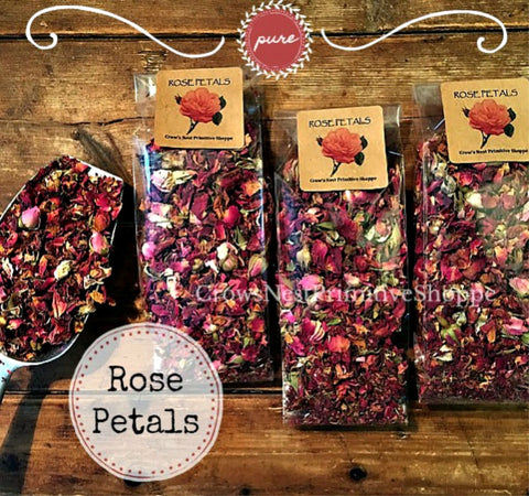 Rose Petals- 1 cup packaged