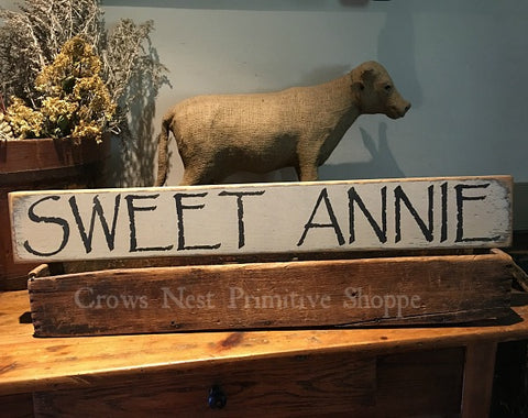 Wooden Sign- Sweet Annie