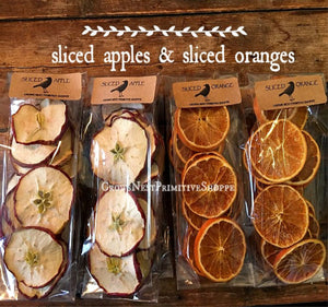 Sliced Apples and Oranges