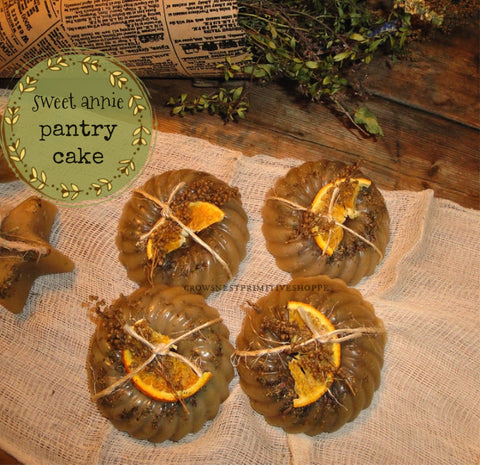 Wholesale Scented Beeswax Sweet Annie Pantry Cake Melt
