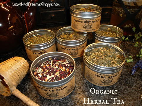 Organic Herbal Tea Tin