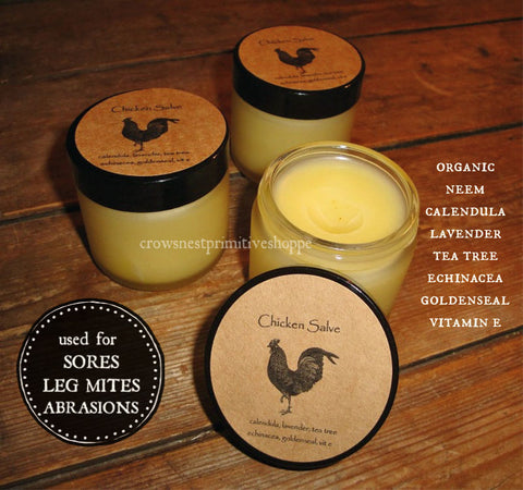 Organic Chicken Salve