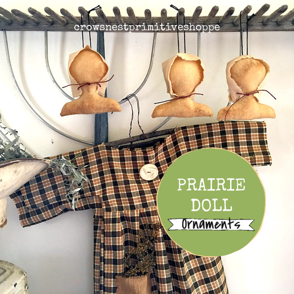 Prairie Doll Hanging Ornament