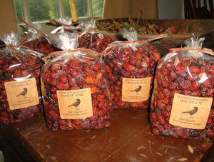 Scented Rosehips Packaged