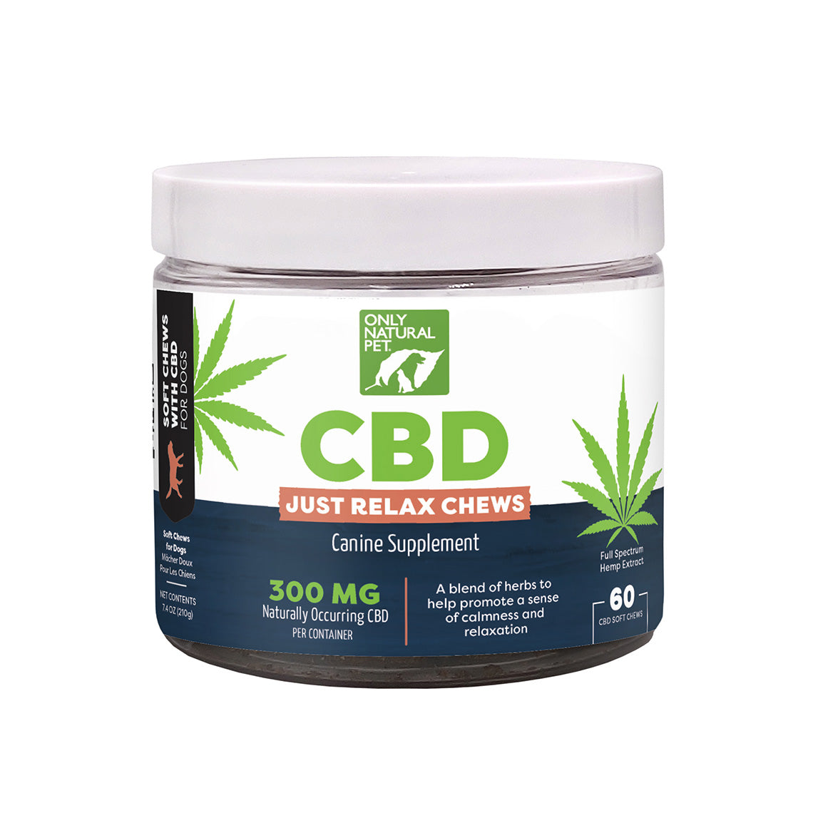 Only Natural Pet CBD Just Relax Soft Chew 60CT