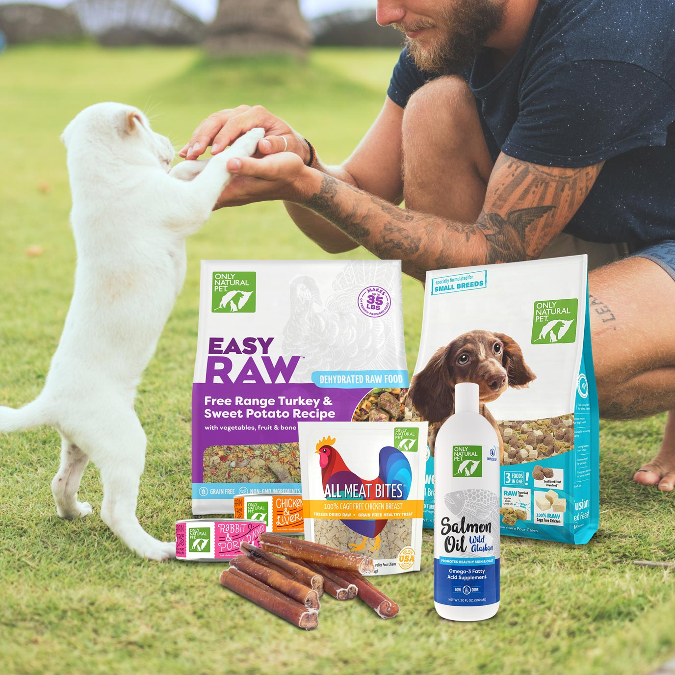 All Natural Pet Products | Only Natural Pet