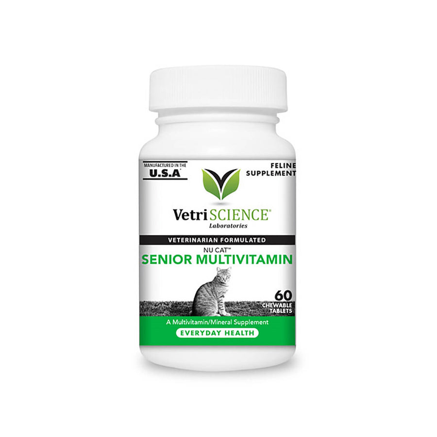 Vetri-Science Nu-Cat Senior Multi-Vitamin Cat Supplement