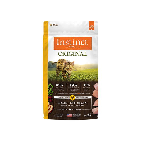 Nature's Variety Grain-Free Instinct Dry Cat Food