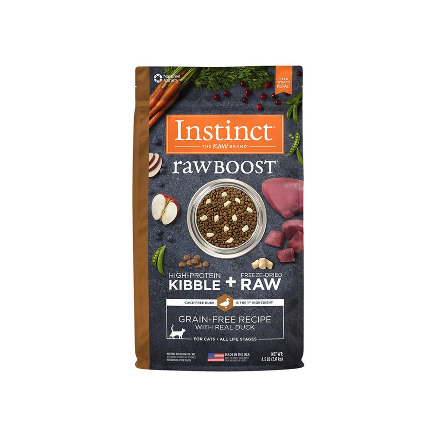 Nature's Variety Instinct Raw Boost Dry Cat Food
