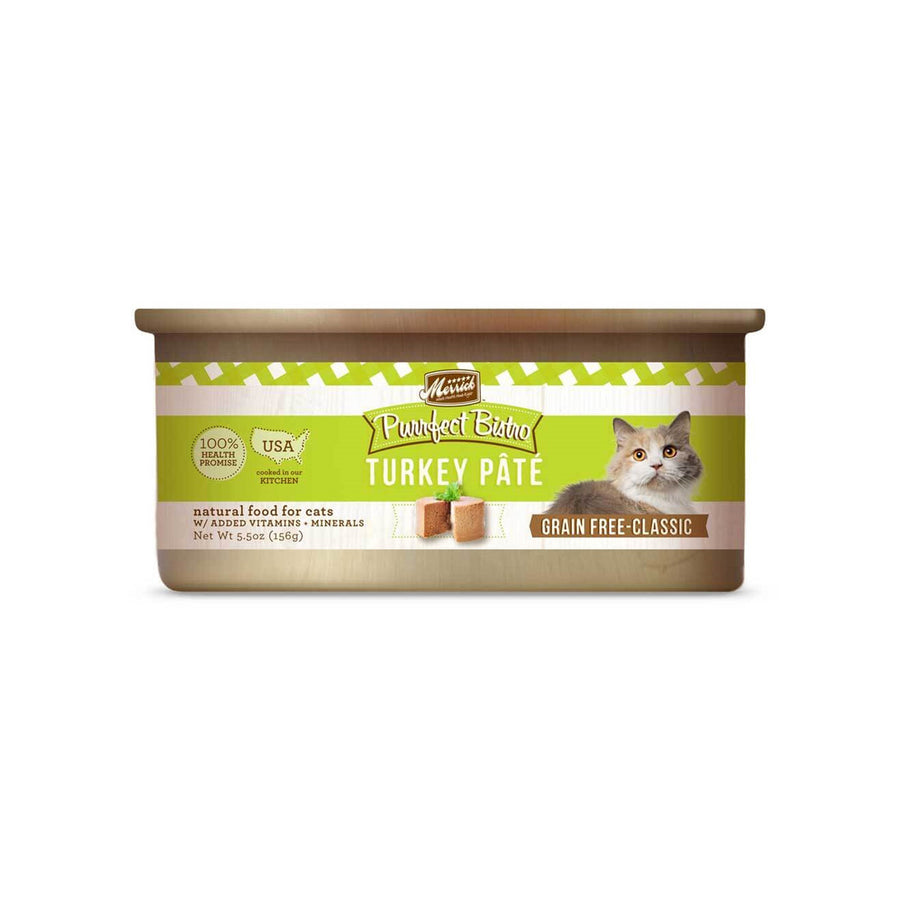 Merrick Purrfect Bistro Grain Free Pate Canned Cat Food