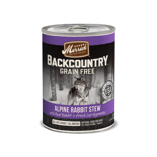 Merrick Backcountry Stew Canned Dog Food