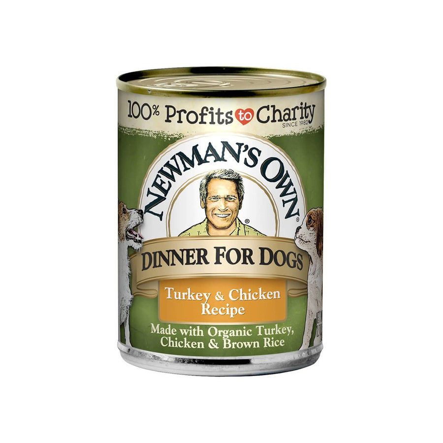 Newman's Own Organics Canned Dog Food