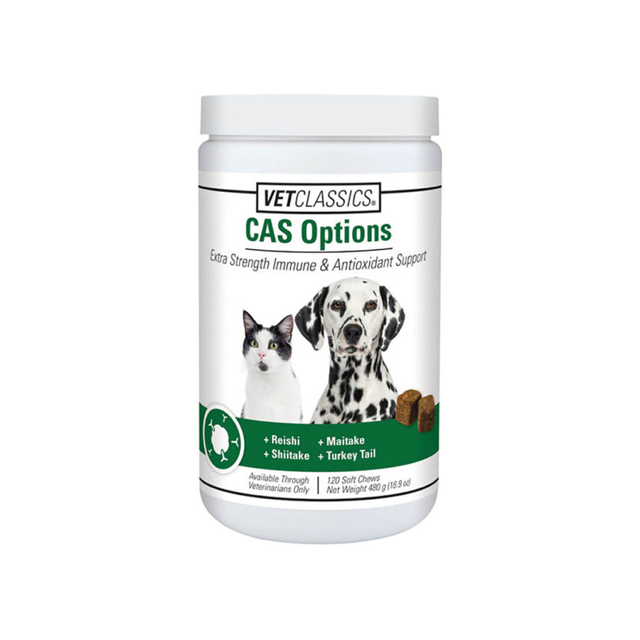 VetClassics CAS Options Supplement for Dogs and Cats