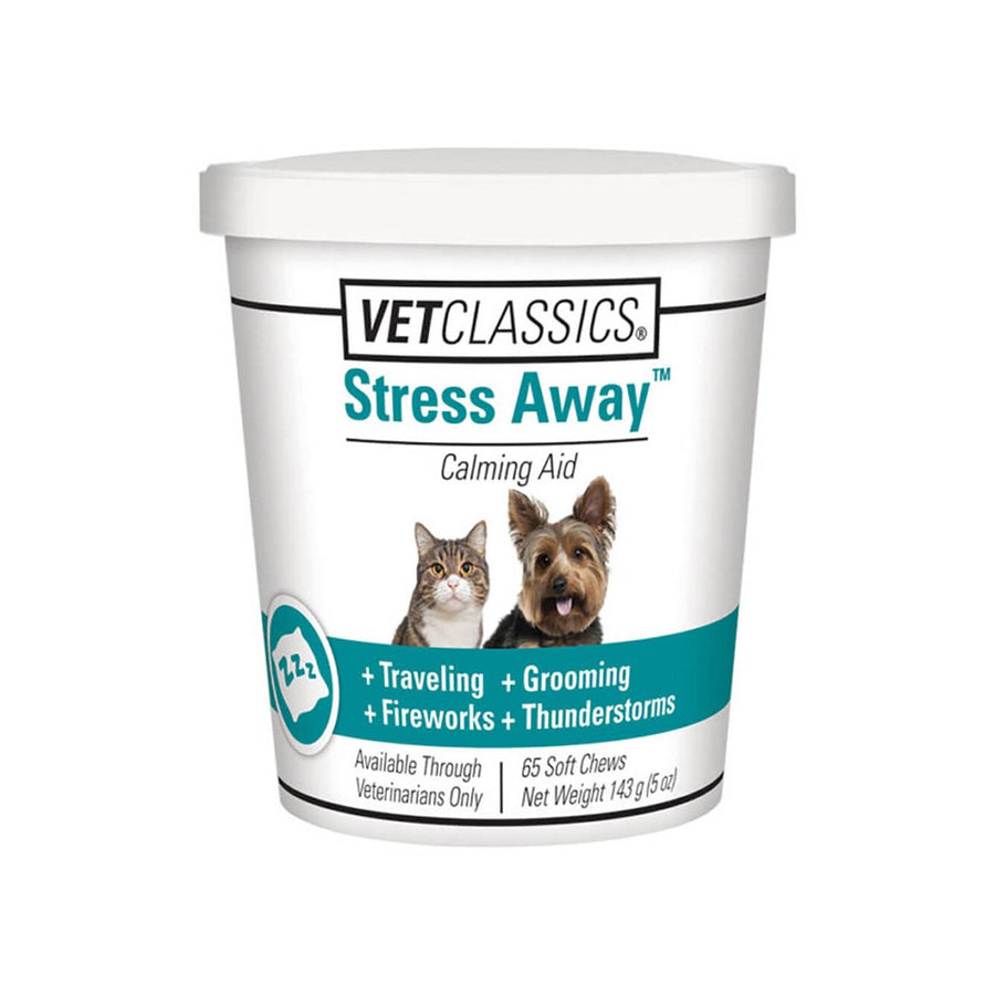 VetClassics Stress Away Cat and Dog Supplement