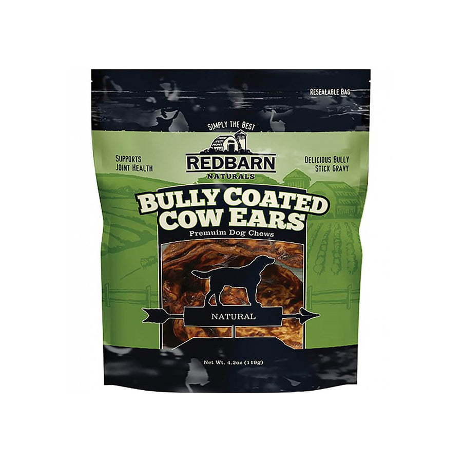 Redbarn Naturals Bully Coated Cow Ears