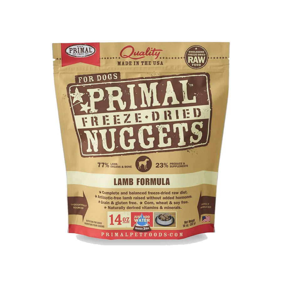 Primal Pet Foods Freeze-Dried Nuggets Dog Food