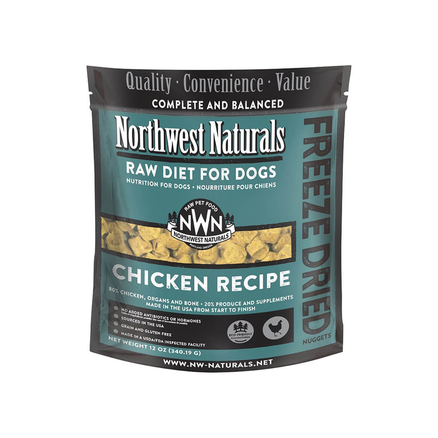 Northwest Naturals Freeze Dried Raw Diet Dog Food
