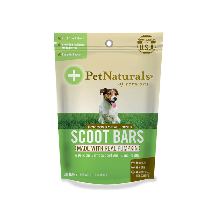 Pet Naturals of Vermont Scoot Bars 30 Pack Dog Chews
