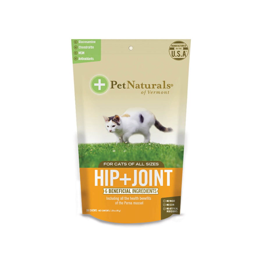 Pet Naturals Hip + Joint for Cats 30 Soft Chews